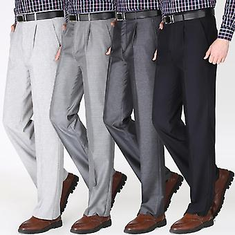 Single Pleated Business Casual Pants