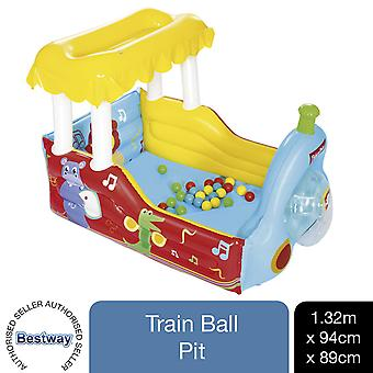 Bestway Fisher-Price Train Ball Pit Inflatable Kids Play Centre 132 x 94 x 89 cm