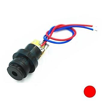 Red Point / Line / Cross Laser Module Head Glass Lens Focusable Industrial