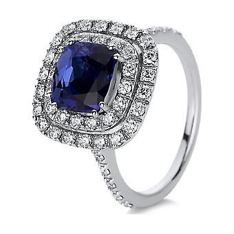 Luna Creation Promessa Ring Color Stone 1B516W855-1 - Ring width: 55