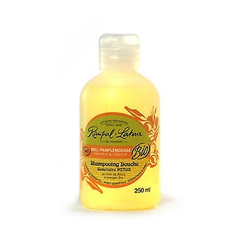 Shampoo and Bath Gel with Honey and Grapefruit 250 ml of gel