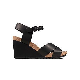 Clarks Flex Sun 261504334 universal Sommer Damen Schuhe