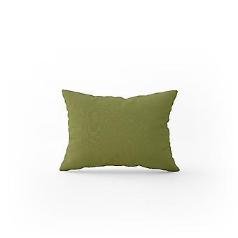 Kissenbezug Doppel Farbe grün In Baumwolle, L52xP82 cm