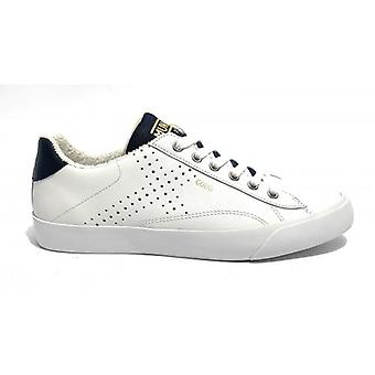 Shoes Munich Sneaker Godò Leather Color White/ Blue Men U20mu15