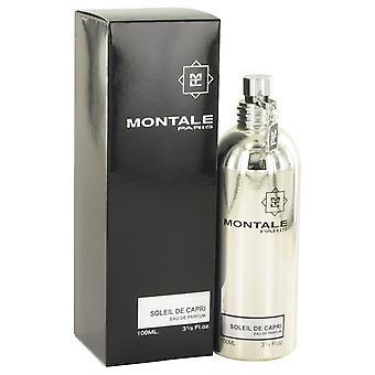 Montale Soleil De Capri Eau De Parfum Spray av Montale 3.3 oz Eau De Parfum Spray