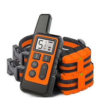 Training Collar, Remote Control, Rechargeable Shock Sound, Vibration, Anti-bark