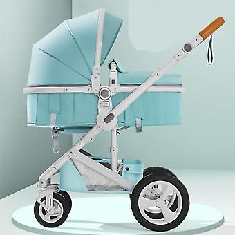 Baby Carriage Folding Portable Two-way Four-wheeled Shock Absorber Cart
