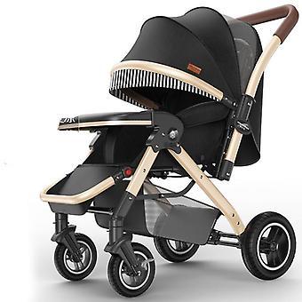 High Landscape Light Stroller - Folding Portable Carriage