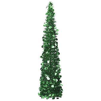vidaXL arbre de Noël pop-up artificiel vert 180 cm PET