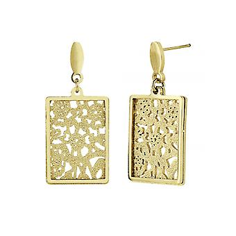 Traveller Drop Earring - Stainless steel - Goldl plated -181022