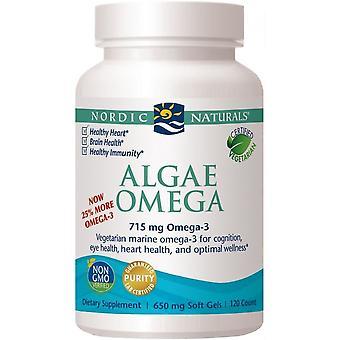 Nordic Naturals Algues Oméga 715 mg 60 Capsules