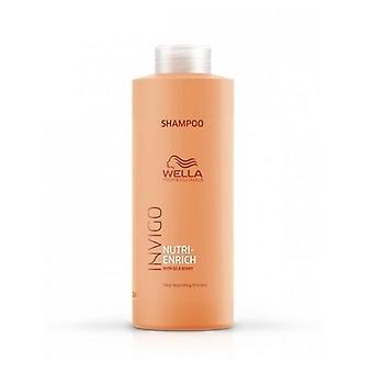 Wella Invigo Nutri-Enrich Shampooing pour cheveux secs ou abîmés 1000 ml