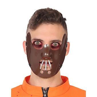 Demi masque cannibale adulte
