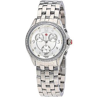 Michele Belmore Chronograph Stainless Steel Ladies Watch MWW29B000001