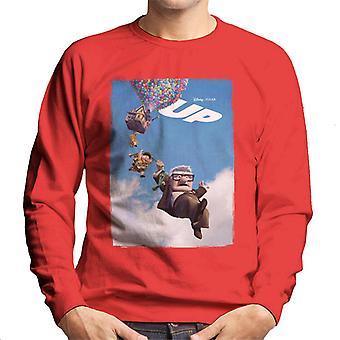 Pixar Up Cinematic Poster Men's Sweatshirt