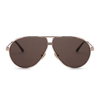 Tom Ford Jet Aviator Sunglasses FT 0734 H 28E 64