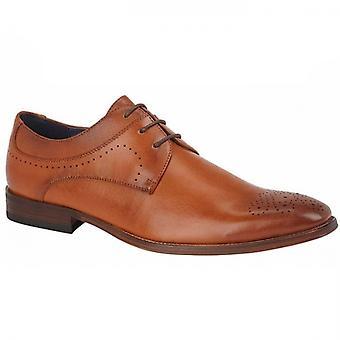 Goor Hansen Mens Brogue Oxford Shoes Tan