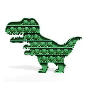 Dinosaur Push Pop Bubble Sensoriska Fidget Leksaker