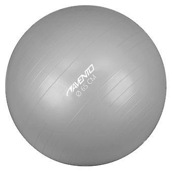 Avento Fitness-/Gymnastikball Durchm. 65 cm Silbern