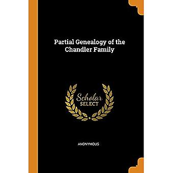 Partial Genealogy of the Chandler Family