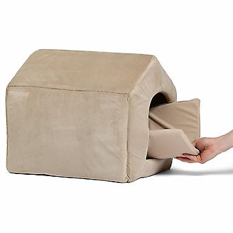 Pet dog house with Removable Cushion Non-Slip