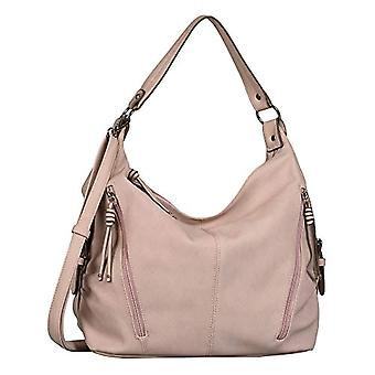 Tom Tailor CAIA, Hobo Bag Woman, Mid Rose, Large