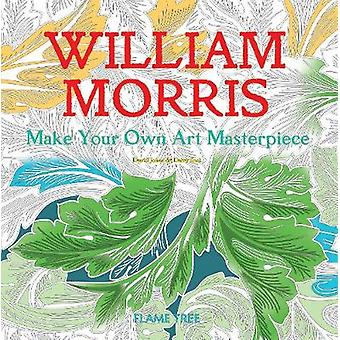William Morris Art Colouring Book Make Your Own Art Masterpiece Colouring Books