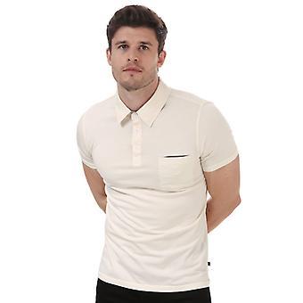 """Hombre"""", camiseta de Henri Lloyd Polo en blanco"""