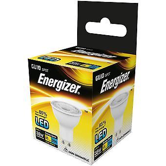 Aggregat LED GU10 Energibesparande glödlampa, sval vit