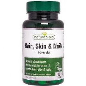 Natures Aid - cheveux, peau et ongles 30VTabs