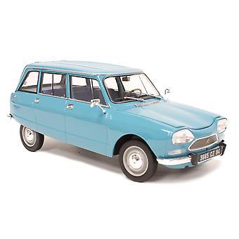 Citroen Ami 8 Break (1975) i petrol blue (1:18 skala av Norev 181671)
