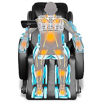 vidaXL massagestoel met Super Display Zwart kunstleer