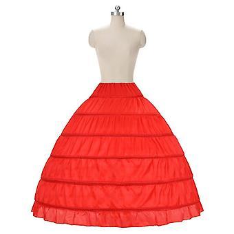 Wedding Petticoat Vestido Longo Ball Gown Crinoline Underskirt