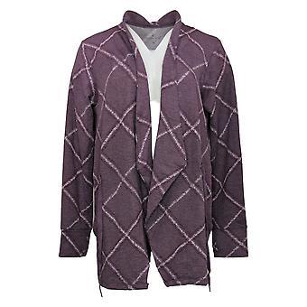 Cuddl Duds Women's Sweater Comfortwear Purple A381692