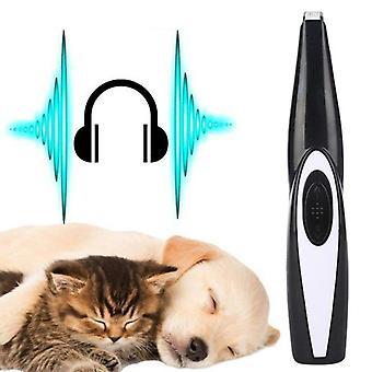 Kissa koiran hoito työkalu leikkaus leikkuri USB ladattava koiran hiustenleikkuu tassu parranajokone clipper