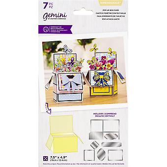 Gemini Dimensionals Papercraft Die - Pop-Up Box Card