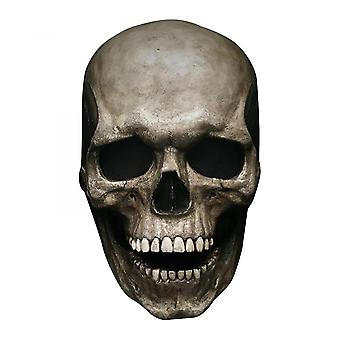2pcs Full Head Skull Mask Helmet With Movable Mouth Skull Mask Cosplay Props