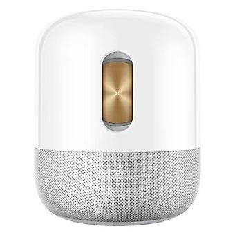 HUAWEI Sound X Speaker, Devialet Dual Woofers Wireless Bluetooth Speaker, 40 Hz Bass Deep, 6 Powerful Tweeters 360° Sound Field, Huawei Share One-hop Audio Sharing(White)