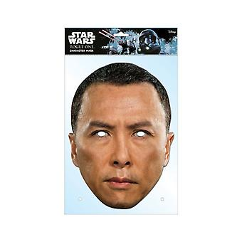 Chirrut Imwe Rogue One: A Star Wars Story Single 2D Card Party Fancy Dress Mask