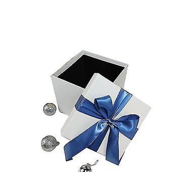 Gift boxes tins christmas box christmas gift decoration box white