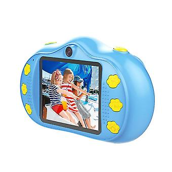 Child cartoon mini digital camera toy 2.4in hd 1800w touch screen dual lens recording function for