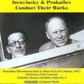 I. Stravinsky - Stravinsky & Prokofiev Conduct Their Works [CD] USA import