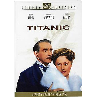 Titanic (1953) [DVD] USA import