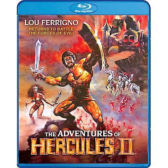 Äventyr av Herkules II [Blu-ray] USA import