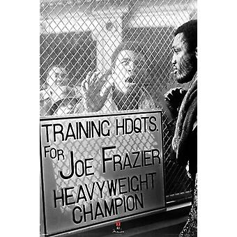 Muhammad Ali vs Smokin Joe Frazier - Window Taunt Poster Poster Print