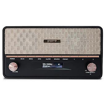 Groov-e Encore radia DAB z głośników Bluetooth (nr kat. GVDR02BK)