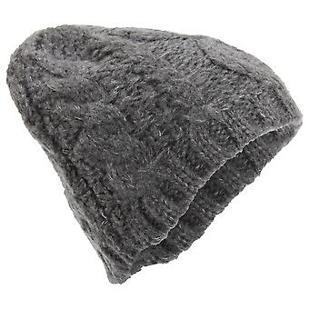 Womens/Ladies Winter Cable Knit Beanie Hat