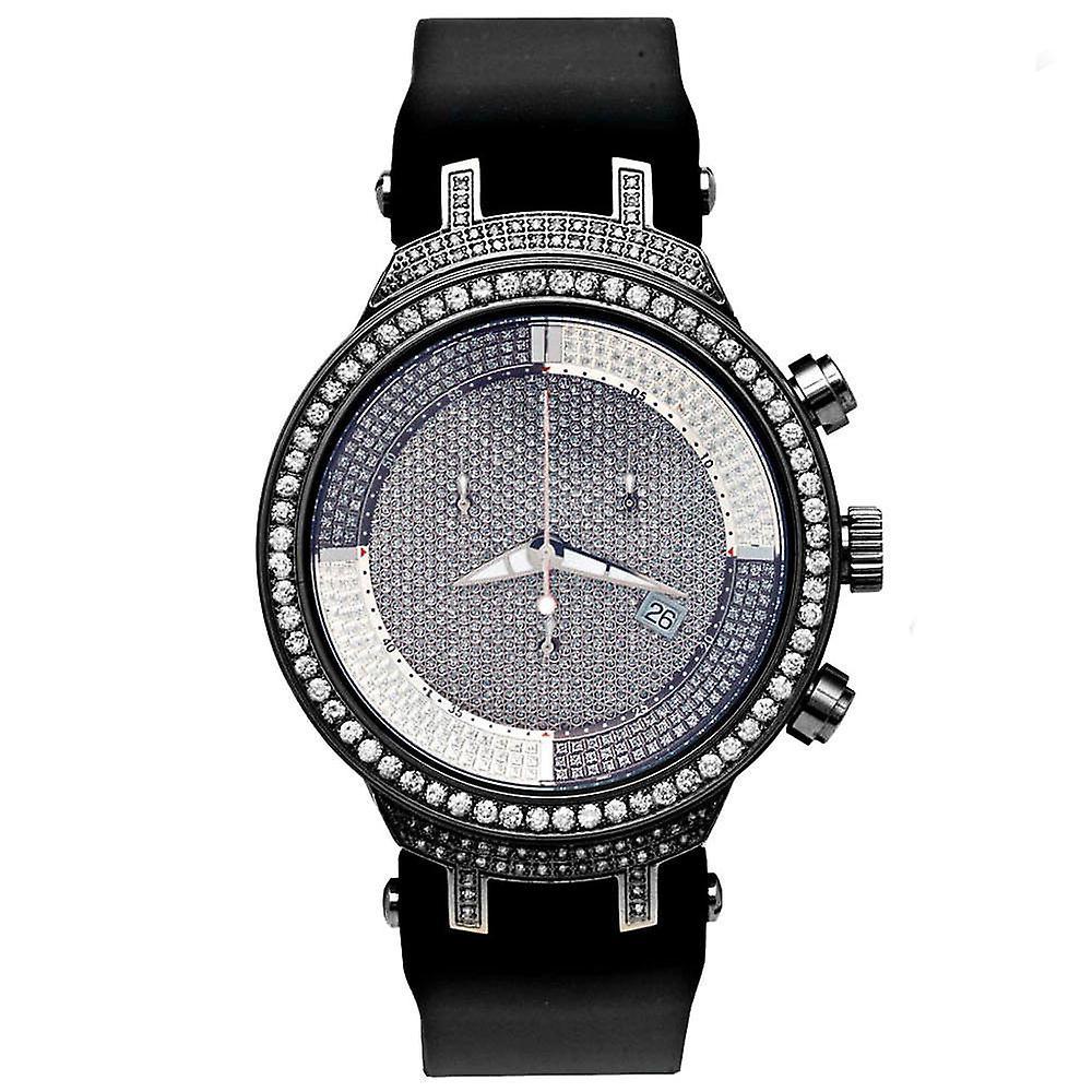 Joe Rodeo Diamant Herren Uhr - MASTER schwarz 2.65 ctw