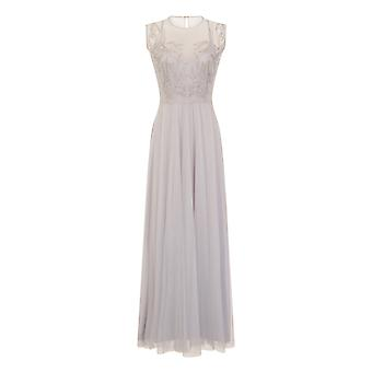 Little Mistress Womens/Ladies Sheer Mesh Embroidered Maxi Dress