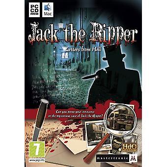 Jack the Ripper letters uit de hel (PC DVD)-nieuw